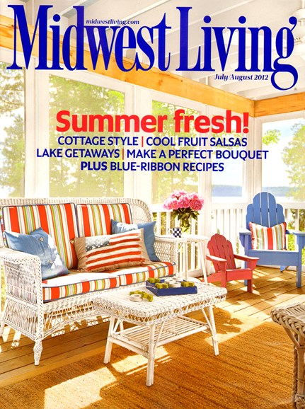 Midwest Living Cover - 7/1/2012