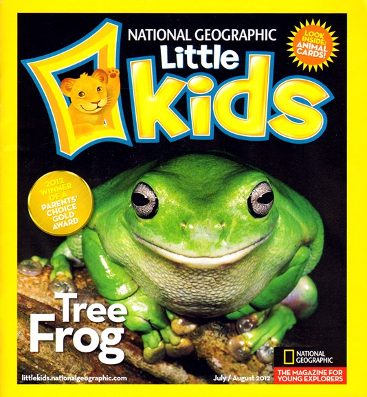 National Geographic Little Kids Cover - 7/1/2012