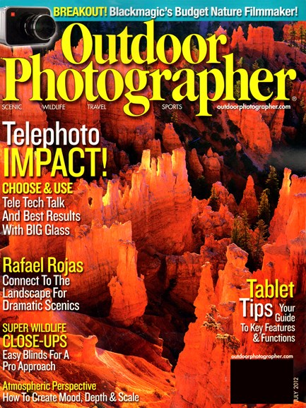 Outdoor Photographer Cover - 7/1/2012