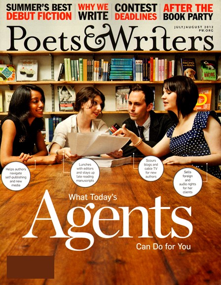 Poets & Writers Cover - 7/1/2012