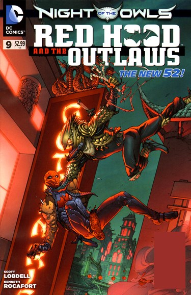 Red Hood and the Outlaws Cover - 7/1/2012