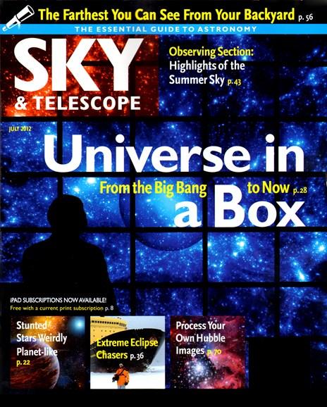 Sky & Telescope Cover - 7/1/2012