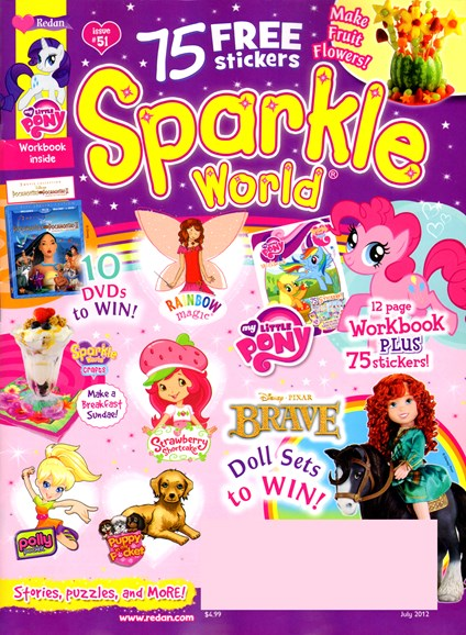 Sparkle World Cover - 7/1/2012