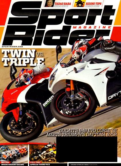 Sport Rider Cover - 7/1/2012