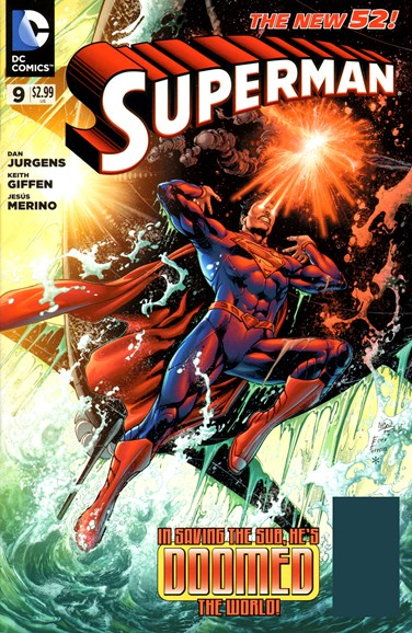 Superman Cover - 7/1/2012