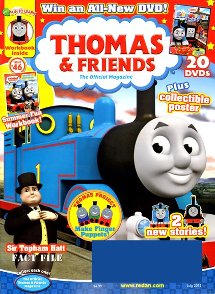 Thomas & Friends Cover - 7/1/2012