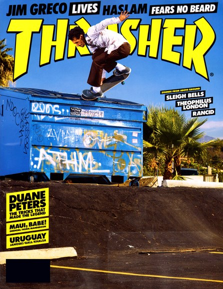 Thrasher Cover - 7/1/2012