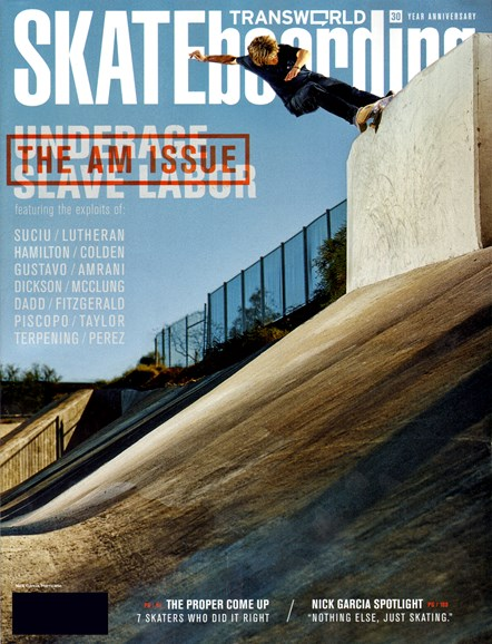 Transworld SKATEboarding Cover - 7/1/2012