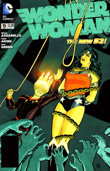 Wonder Woman Cover - 7/1/2012