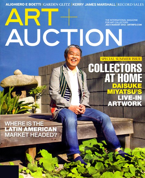 Blouin Art & Auction Cover - 7/1/2012