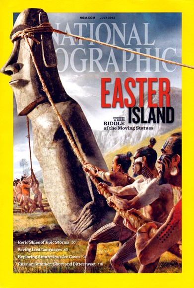 National Geographic Cover - 7/1/2012