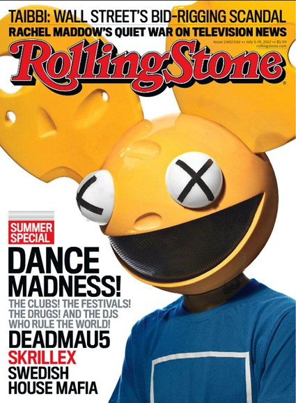 Rolling Stone Cover - 7/5/2012