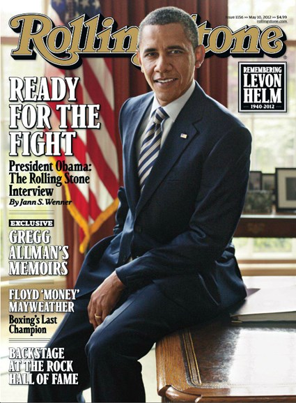Rolling Stone Cover - 5/10/2012