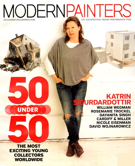 Blouin Modern Painters Cover - 7/1/2012
