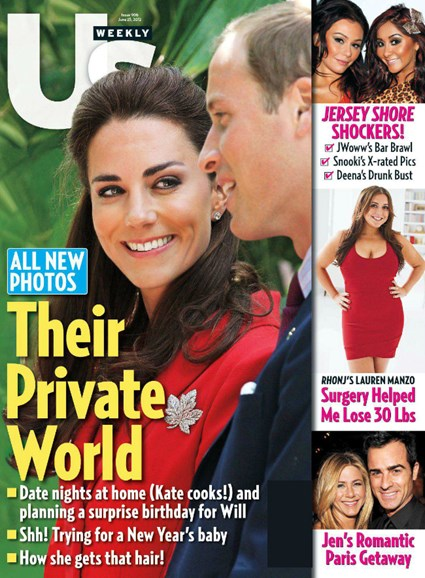 Us Weekly Cover - 6/25/2012