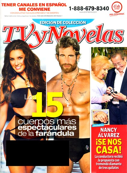 Tv Y Novelas Cover - 7/1/2012
