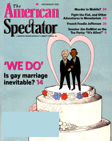 The American Spectator Cover - 7/1/2012