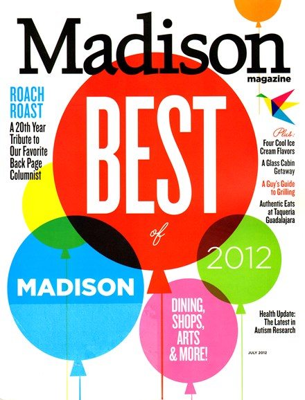 Madison Magazine Cover - 7/1/2012