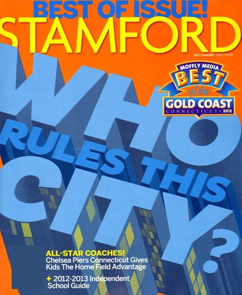 Stamford Magazine Cover - 7/1/2012