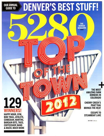 5280 Magazine Cover - 7/1/2012