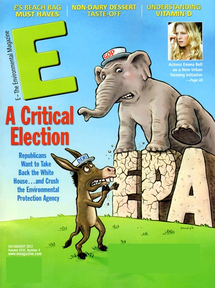 E: The Environment Magazine Cover - 7/1/2012