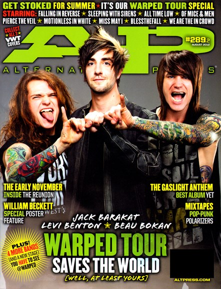 Alternative Press Cover - 8/1/2012