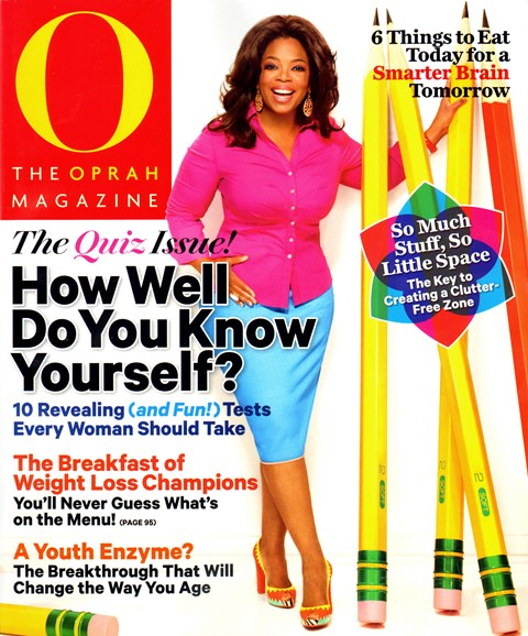 O The Oprah Cover - 8/1/2012