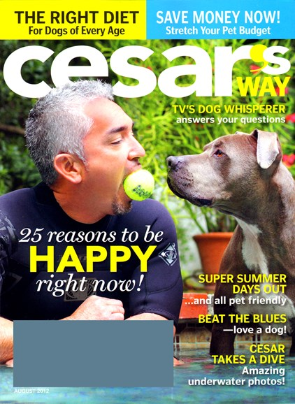 Cesar's Way Cover - 8/1/2012