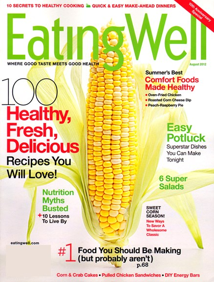 EatingWell Cover - 8/1/2012