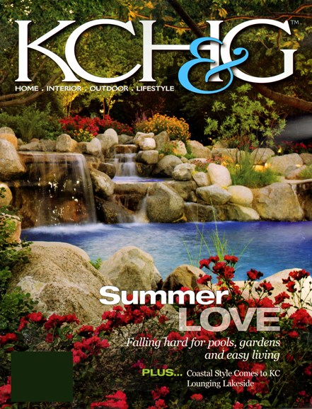 Kansas City Homes & Gardens Cover - 8/1/2012