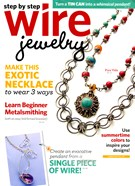 Step By Step Wire Jewelry Magazine 8/1/2012