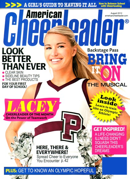 American Cheerleader Cover - 8/1/2012