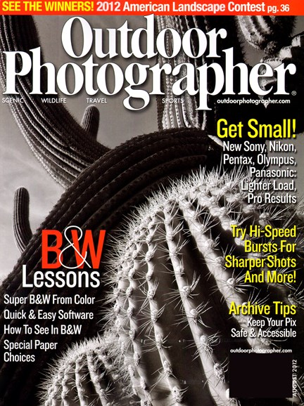 Outdoor Photographer Cover - 8/1/2012