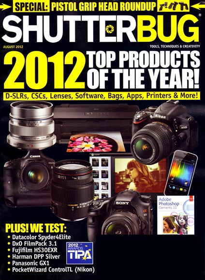 Shutterbug Cover - 8/1/2012
