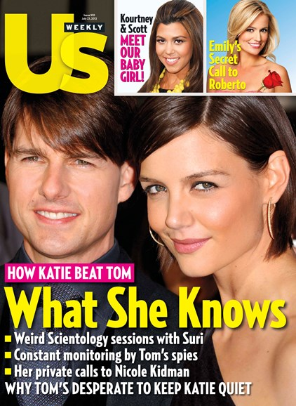 Us Weekly Cover - 7/23/2012