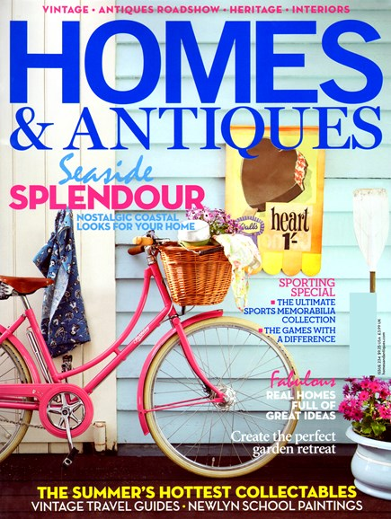 Homes & Antiques Cover - 7/1/2012