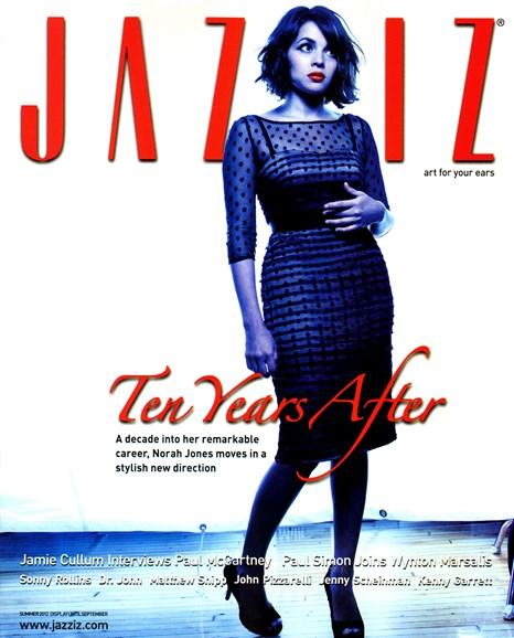 Jazziz Cover - 8/1/2012