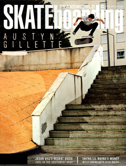 Transworld SKATEboarding Cover - 8/1/2012