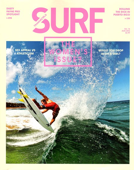 Transworld SURF Cover - 8/1/2012