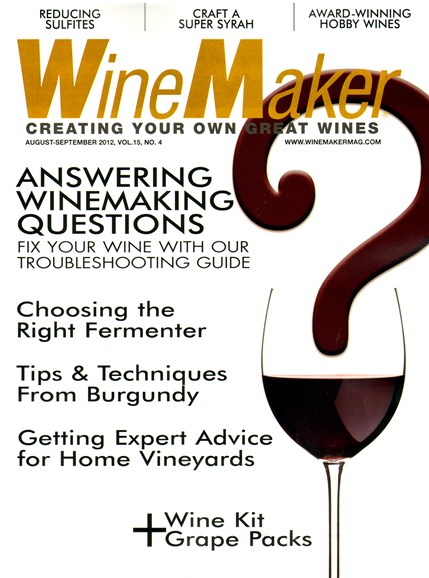 Winemaker Cover - 8/1/2012