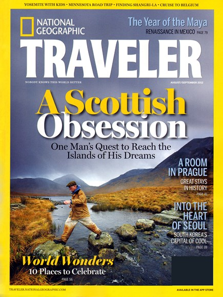 National Geographic Traveler Cover - 8/1/2012