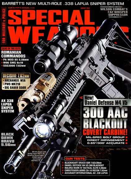 Special Weapons for Military & Police Cover - 8/1/2012