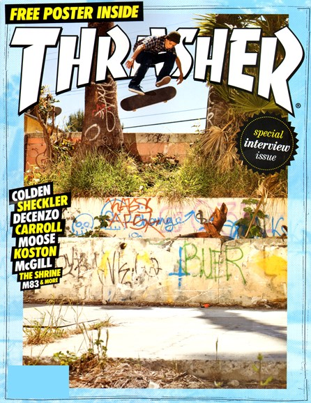 Thrasher Cover - 8/1/2012