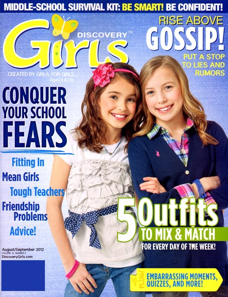 Discovery Girls Cover - 8/1/2012