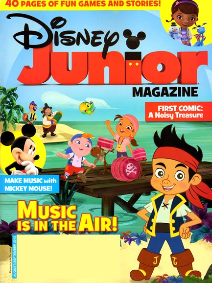 Disney Junior Cover - 8/1/2012