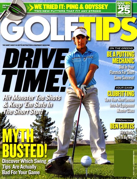 Golf Tips Cover - 8/1/2012