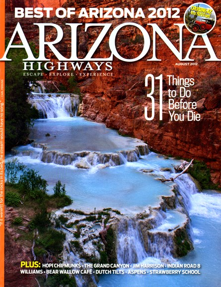 Arizona Highways Cover - 8/1/2012