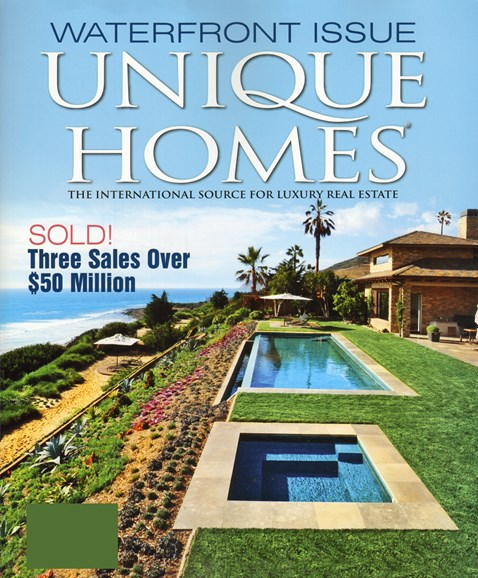 Unique Homes Cover - 8/1/2012