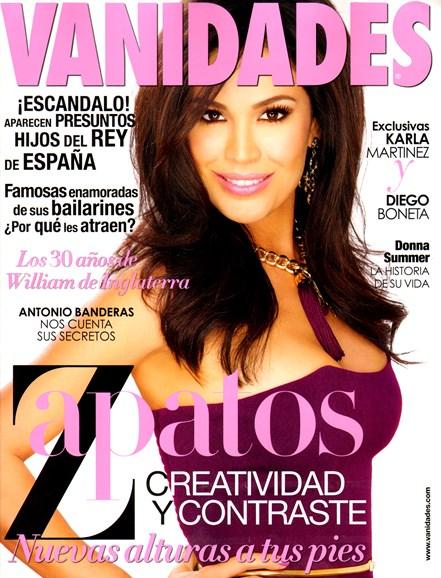 Vanidades Cover - 8/1/2012