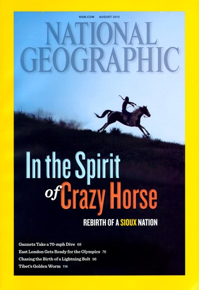 National Geographic Cover - 8/1/2012